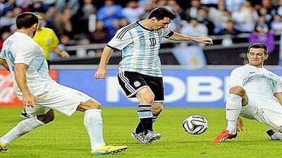 Argentina vs Eslovenia (2-0) Resumen y Goles Amistoso 2014 (VIDEO)