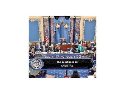 Senado absuelve al presidente de EEUU en  juicio político