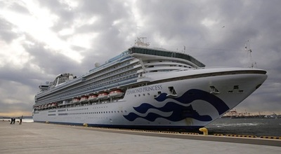Coronavirus: 20 los casos en crucero japonés permanece en cuarentena