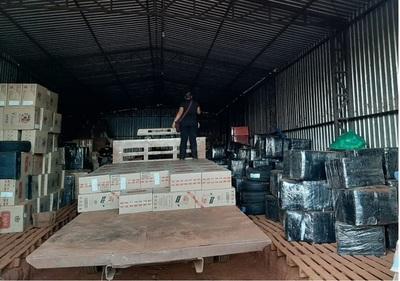 Más de 40 millones de cajetillas de cigarrillos fueron incautadas de contrabando