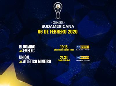 Interesantes juegos para concluir la primera semana de la Sudamericana