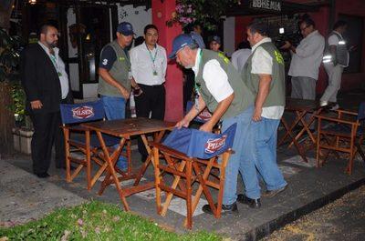 Asunción: locales deben prohibir a sus clientes consumir alcohol en la vereda