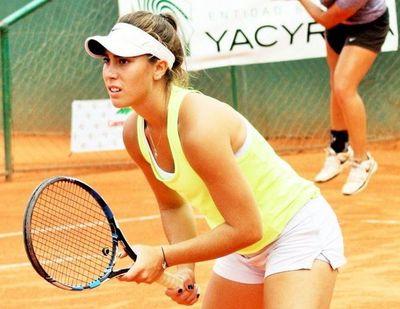 Paraguay suma su primer punto en Fed Cup con triunfo de Lara Escauriza