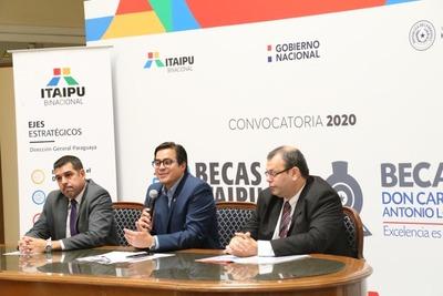 Becal e Itaipu anunciaron el lanzamiento de unas 2.000 becas universitarias