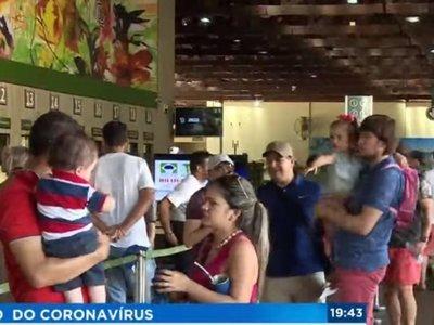Brasil tiene casos sospechosos de coronavirus y refuerza la frontera con Paraguay