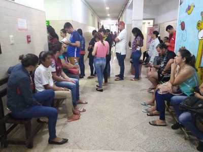 IPS colapsado: a punto de internar en los pasillos