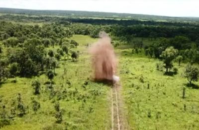 Prosigue destrucción de pistas clandestinas en el norte