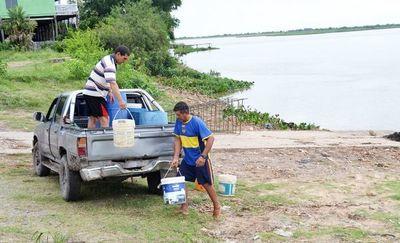 Quejas por la falta de agua