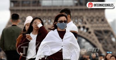 El gobierno francés anunció cinco nuevos casos de coronavirus