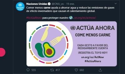 Chaco: Consejo de Desarrollo y Cooperativas desaprueban posición de ONU contra la carne