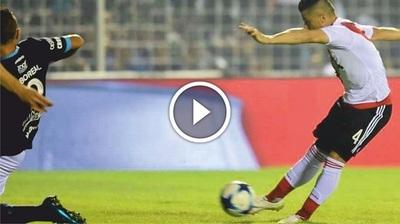 """Moreira marca un gol a los """"40 segundos"""" en el fútbol argentino (Video)"""