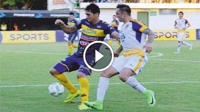 Sportivo Trinidense vs Sportivo Luqueño (3-3) Goles Resumen Resultado Torneo Apertura 2017