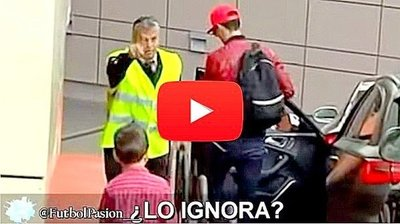 Cristiano Ronaldo hace llorar a un niño que queria abrazarlo (VIDEO)