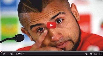 Arturo Vidal pide disculpas en medio del llanto (VÍDEO)