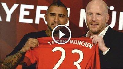 Arturo Vidal es nuevo jugador del Bayern Munich (VÍDEO)