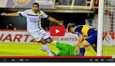 Boca Juniors vs Deportivo Capiata (0-1) Goles Resumen Resultado Copa Sudamericana 2014
