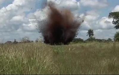 Destruyen pistas clandestinas en reserva