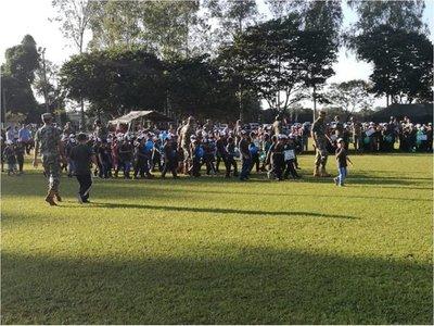 Soldado por un día reunió a más de 1.000 niños en Curuguaty