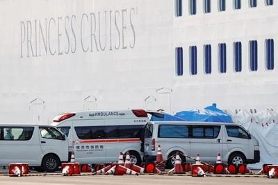 Crucero registra 70 casos de coronavirus y ya es el foco más grande fuera de China
