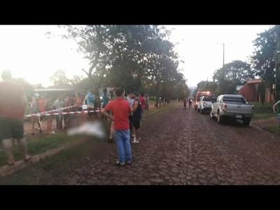 CAÍDA FATAL DE UN MOTOCICLISTA EN MAYOR OTAÑO
