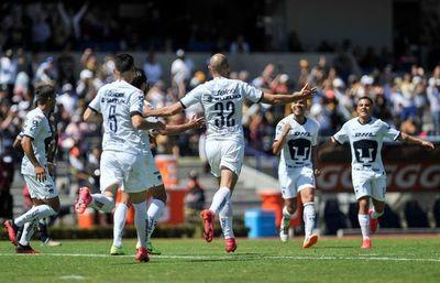 Paraguayo González encabeza goleada de los Pumas