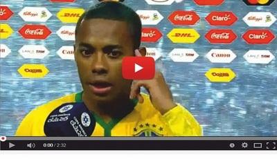 """Robinho: """"Paraguay no es de las mejores selecciones"""" (VÍDEO)"""
