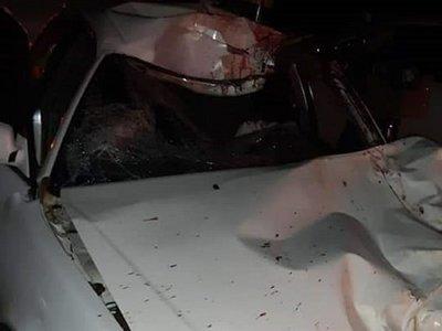 Una vaca suelta ocasiona accidente fatal en Caazapá