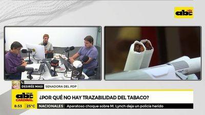 ¿Por qué no hay trazabilidad del tabaco?
