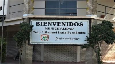 Continúan obras de desagüe pluvial para el barrio la Piedad de Irala Fernández