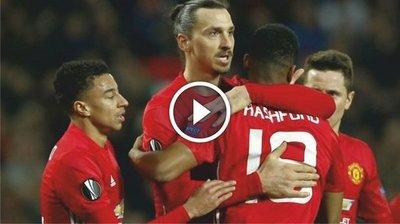 Manchester United vs Saint-Etienne (3-0) Goles Resumen Resultado Europa League 2017