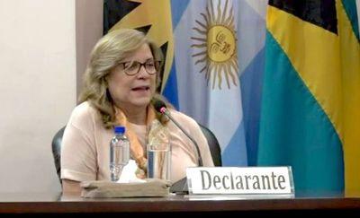 Desestiman querella por difamación y calumnia contra Cristina Arrom