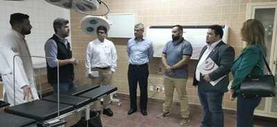 Universidad coopera para readecuación de quirófano en el Hospital Regional