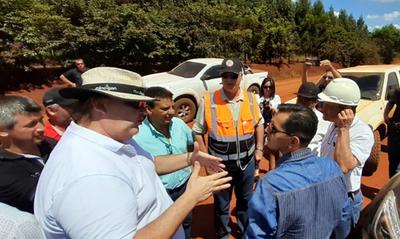 Dan inicio a obras viales en el sur del Alto Paraná