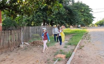 Minga se traslada al barrio Itacurubí