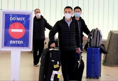 Confirman el primer caso de coronavirus en la frontera entre Estados Unidos y México