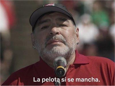Diego Maradona participa en serie sobre barrabravas argentinos