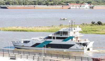 """Servicio """"Ferry del Chaco"""" inicia etapa de evaluación para siguiente fase del proyecto"""