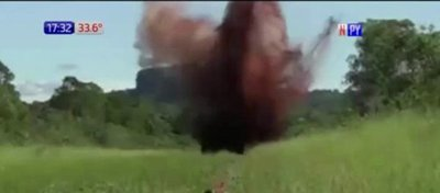 Destruyen narcopista en Amambay