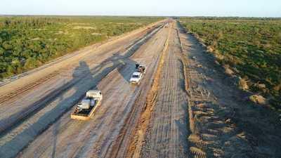 Hoy se habilita nuevo camino en el Chaco que ahorrará casi 200 km. el viaje hasta Asunción