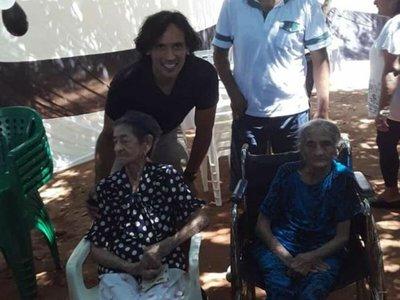 Roque llevó alegría a Itauguá Guasu