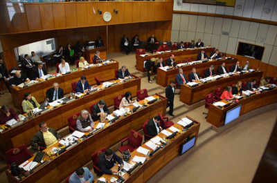 Senadora espera que se restaure proyecto original de financiamiento político