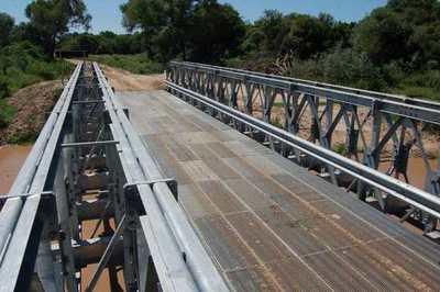 Habilitan camino y puente en el Chaco que reducirá distancia hasta Asunción