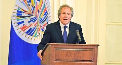 Rivales de Luis Almagro presentan sus propuestas para elecciones en la OEA
