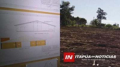 ASOC. DE FUNCIONARIOS DE LA GOBERNACIÓN INICIA CONSTRUCCIÓN DE SALÓN MULTIUSO