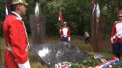Conmemoración de los 150 años de la Batalla de Cerro Corá