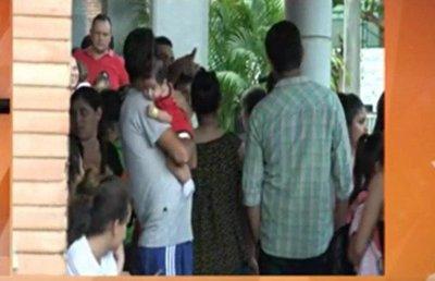San Lorenzo: Sin energía eléctrica en el Hospital de Calle'i
