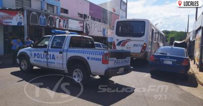 Accidente de tránsito solo registró daños materiales en Encarnación