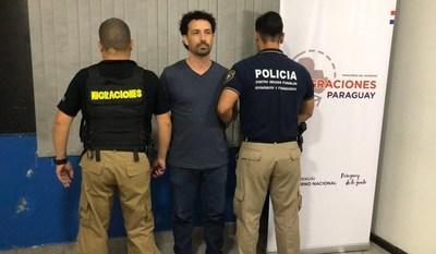 Expulsaron del país a brasileño prófugo de la justicia de su país
