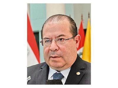 Embajador de OEA finaliza misión en el Paraguay