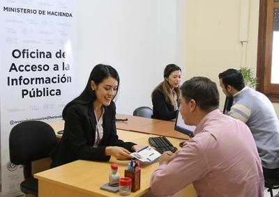 Oficina de información pública está a disposición de toda la ciudadanía